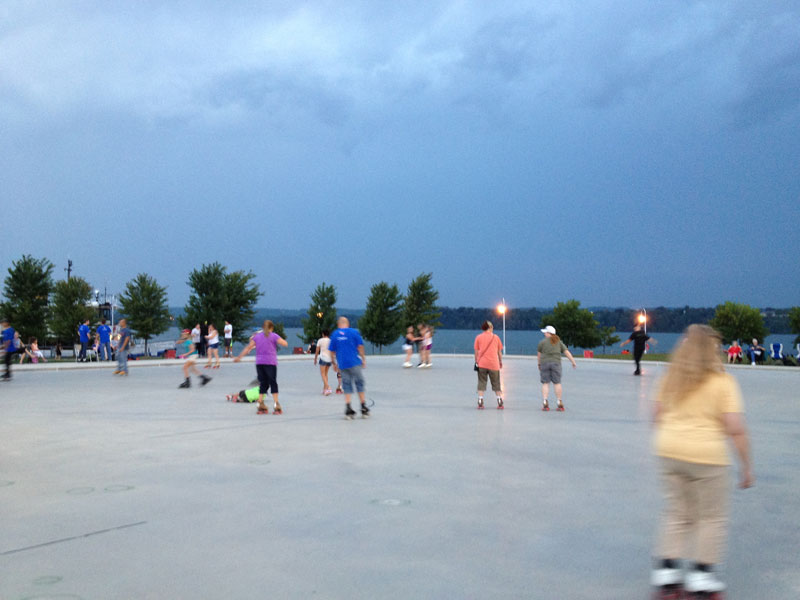 Hamilton Waterfront Outdoor Rink